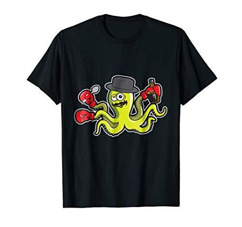 Drunk Octopus Wants to Fight Cute T-Shirt