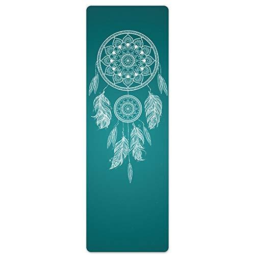 Colchoneta de Yoga Yoga Mat antideslizante Hot Yoga Mat ecológico Caucho...