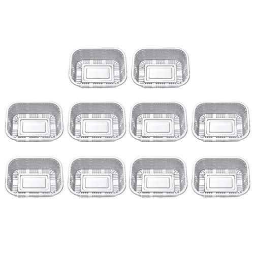 Toyandona 50 Stück Einweg-Lebensmittelbehälter aus Kunststoff für Kühlschrank, Küche, Mikrowelle