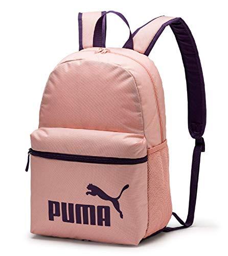 Puma Phase 07548714, Mochila tipo casual, Unisex, Color Durazno/Indigo.