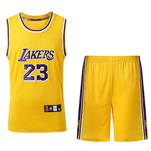 XPQY Los Angeles Lakers Lebron James #23 Conjunto de Uniform