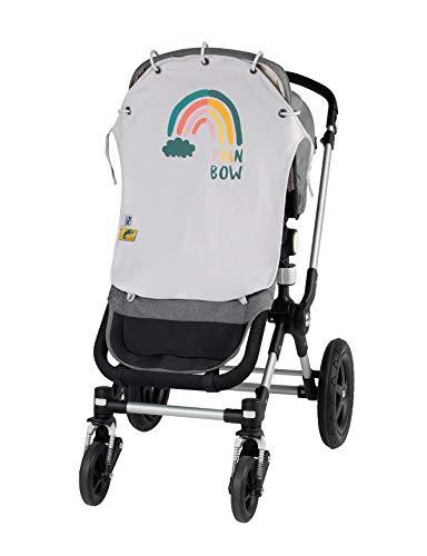 Parasole per passeggino 'Fancy rainbow'