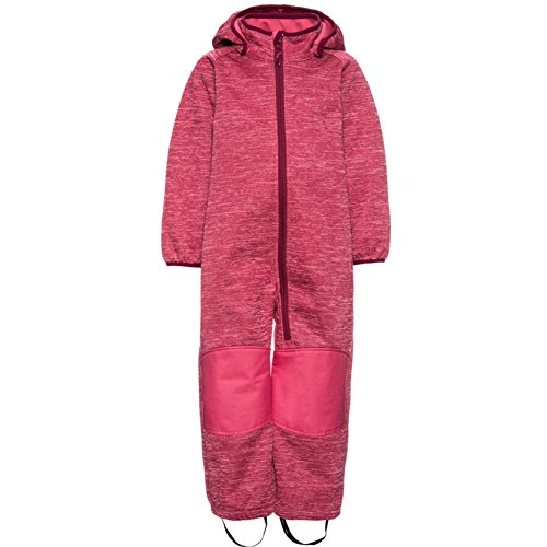 NAME IT NITBETA Knit Softshell Suit MZ G FO Kinder Jacke 86 Rapture Rose