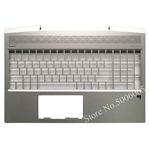 Laptop keyboard, Palmrest upper cover for HP ZHAN 99 G1 TPN-C134 With fingerprint hole C shell