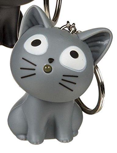 Objektkult Schlüsselanhänger Katze mit...