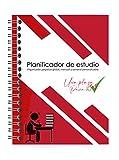 Morla Organizador/planner/agenda mensual y semanal perpetuo personalizable (24 meses). Para todo tipo de estudios, oposiciones, selectividad y exámenes. Tamaño A4.