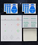 Reusable Transparent Aim Sight Assist Decals - FastScope TV or Monitor Decal for...