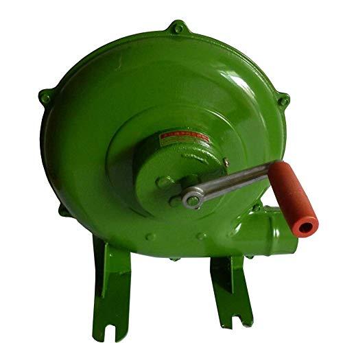 Yx-outdoor Manivela de herrería forja soplador, soplador de Barbacoa Manual, Ventilador de...