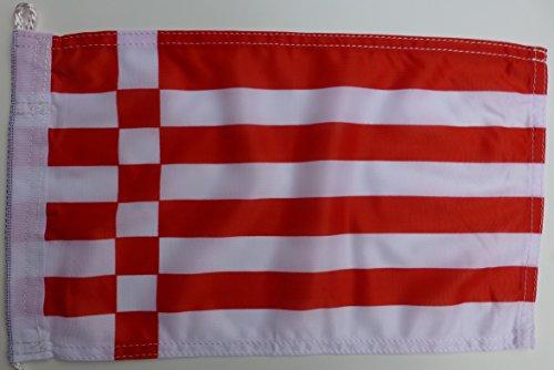 Netflags Drapeau de Brême sans armoiries, Speck Drapeau, Drapeau allemand en maille polyester 110 g/m², 100 x 150 cm