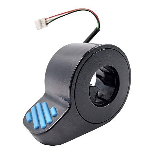 Ganquer Resistente Escúter Eléctrico Piezas Dedo Acelerador para Ninebot ES1/ES2/ES3/ES4 Ebike -...