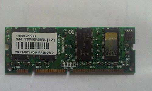Transcend 128MB Module - Epson Drucker - EPL-6200 - EPL-N2500, AcuLaser C900 - EPL-N3000 - AcuLaser CX11N, CX11NF, CX11NFC - AcuLaser C2600/N - AcuLaser C1000, C1100/N - Aculaser CX11F Arbeitsspeicher