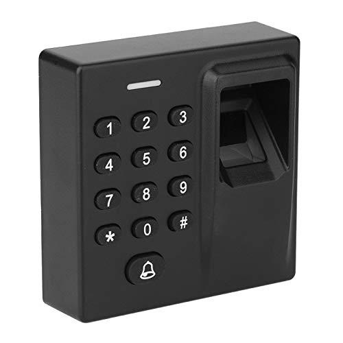 Fockety Sistema de Seguridad para el hogar, contraseña, luz de Fondo, Teclado, Tarjeta RFID, Cerradura de Puerta RFID, Tipo de inducción de capacitancia biométrica para el Centro de investigación y