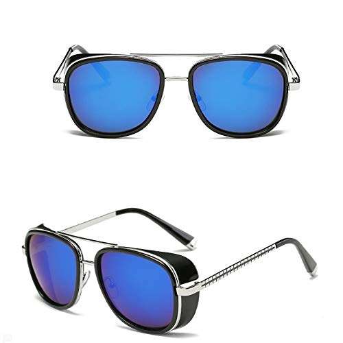 Único Gafas de Sol Sunglasses Gafas De Sol Hombres Mujeres Revestimiento Diseño Vintage Gafas De Sol Retro Tonos Gafas A