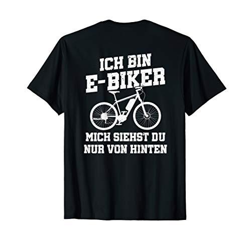 E Bike Ebike Elektrofahrrad Fahrrad E-Bike Elektrorad Biker T-Shirt