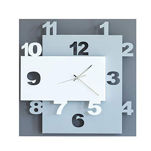 CalleaDesign 40 cm Horloge Murale Clock40 Noir