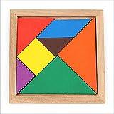 OOFAY 7PCS tangrams de Madera Juguetes educativos para niños Desarrollo Educativo Educativo