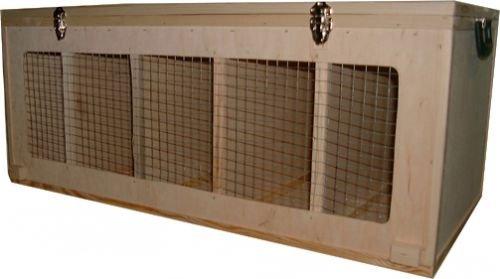 Hemel Transportkiste für mittelgroße Hühnerrassen