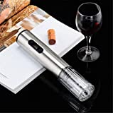 XZYP Abridor De Botellas Eléctrico, Acero Inoxidable con Base De Carga De Vino Conjunto Abridor De Botellas
