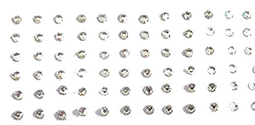 120 Silver Dots 2 5 Mm Stick On Fake Nose Studs Silver Fake Nose