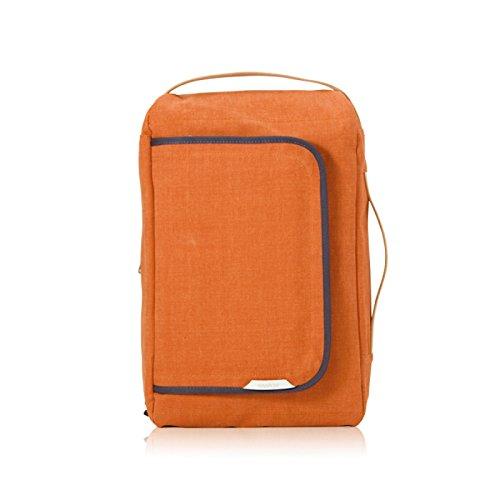 rawrow Fashion escuela mochila Bookbag Bolsa de R 100cera lienzo, Anaranjado