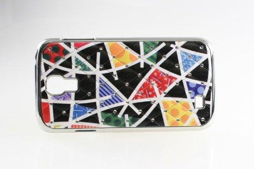 Cool Skin cas de téléphone portable Mobile Phone Case Cover Protector Case Cover Samsung i9500 Galaxy S4 smartphones Chrome Modern Design