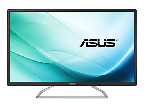 "ASUS 32"" 1080P LCD Monitor with LED back-light (VA325H) - Full HD, IPS, Wide 178° Viewing Angle, 5ms, Speaker, Eye Care, Blue Light Filter, Flicker Free, HDMI, VGA, Tilt Adjustable"