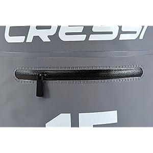 4134z+1+1LL. SS300  - Cressi Dry Bag with Zip Bolsillos con Correa de Hombro Ajustable, Unisex Adulto