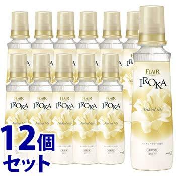 《セット販売》 花王 フレア フレグランス イロカ ネイキッドリリーの香り 本体 (570mL)×12個セット 柔軟剤 IROKA