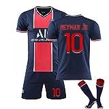 LIUHUAN Niños Hombres Camiseta de fútbol 2021 Paris Home # 7# 10# 11...