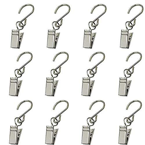 Frmarche 20 Stück Haken für Vorhang, Clips für den Außenbereich, für Partylichter, Zubehör für Partys, Beleuchtungen, Haken, für den Außenbereich, Camping, Dekoration, Weihnachtszubehör