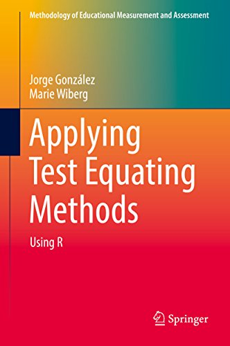 Applying Test Equating Methods: Using R (Methodology of Educational Measurement and Assessment) (English Edition)