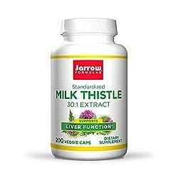 top 10 liver care himalaya Jarrow Formula Milk Thistle (Silymarin Marianum), Promotes Liver Health, 150 mg / Capsule, 200…