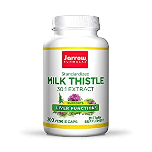 Antioxidant Support: Milk Thistle provides compounds that support the body's antioxidant system, including immune response and liver protein synthesis; The formula supplies a 30:1 extract to contain 80 percent total milk thistle seed flavonoids Suppo...
