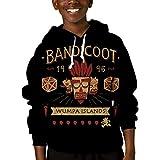 Bandicoot Time 男の子女の子のための子供半袖3DプリントTシャツファッションTシャツトップ