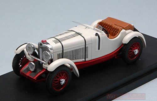 Rio Model Compatible con Mercedes SSK N.1 2nd LM 1931 B.IVANOWSKI-H.STOFFEL 1:43...