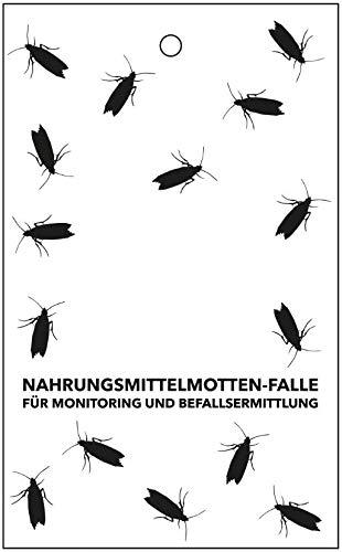 Sautter & Stepper GmbH Profi-Pheromonfalle zur Befallsermittlung von Lebensmittelmotten, Dörrobstmotten, Nahrungsmittelmotte (1 Stück)