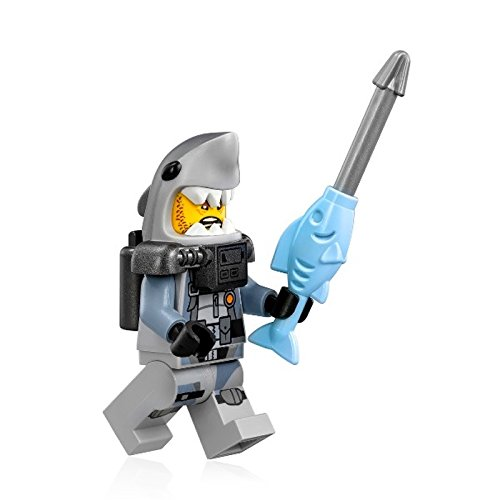 The LEGO Ninjago Movie Minifigure - Shark Army Great White (Scuba Suit) 70613