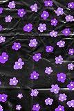 Purple Daisy Vinyl Print Notebook