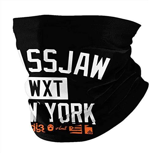 yunshenbuzhichu Glassjaw 'New York' Unisex Multifunktionale Kopfbedeckung Outdoor Kopftuch Bandana Neck Gamasche Rohr Sturmhaube