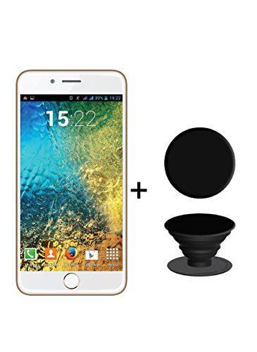 IKALL K1 5inch 4G Android Phone with PopUp GripGold 8GB