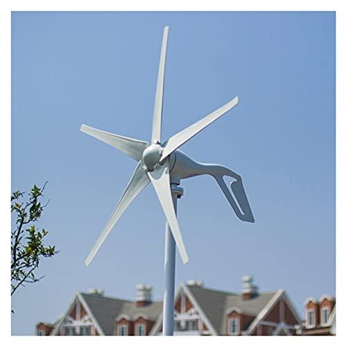 Aerogeneradores Generador de turbina eólica 12V / 24V 400W calificado 400W Generador de energía eólica 3/5 / 6blades generador de viento Energía solar y eólica
