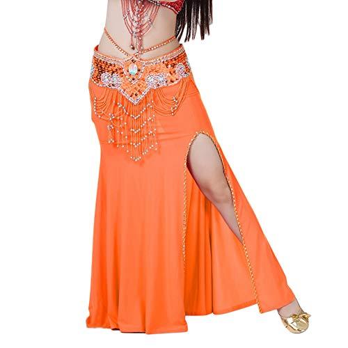 Mujer Traje De Falda De Danza del Vientre De Entrenamiento