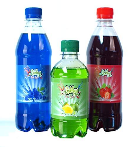 Blaue Himbeere & Erdbeere Slurpee Sirup Mit Gratis Zitrone Slush Flüssigkeit
