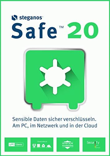 Steganos Safe 20 | 5 Gerät | PC | PC Aktivierungscode per Email