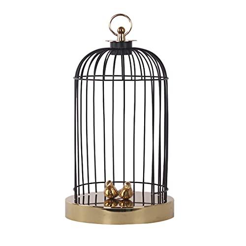Vogelkooi Moderne nieuwe Chinese metalen vogel kooi thuis woonkamer hal hal decoratie decoratie hotel cafe decoratie geschikt voor het verzenden van baas collegas en vrienden Net Cover Vogelkooi