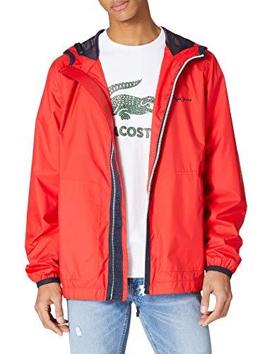 Pepe Jeans Robert Chaqueta, 244mars Red, L para Hombre