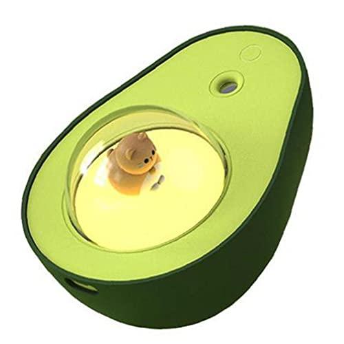 Mini USB humidificador de Vapor de Aire Difusor hidratante Spray Humidificar Copa con luz de la Noche para el bebé Beuaty Dormitorio del hogar