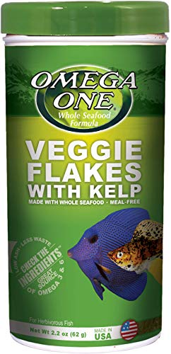 Omega One Veggie Kelp Flakes 2.2 oz Container
