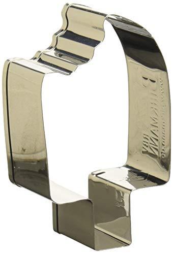 Birkmann 1010722110 Ausstechform EIS am Stiel, 7 cm, Kunststoff, Grau, 5 x 3 x 2 cm