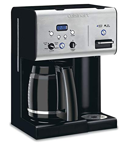 Cuisinart CHW-12P1 12-Cup Programmable Coffeemaker with Hot Water System, Black